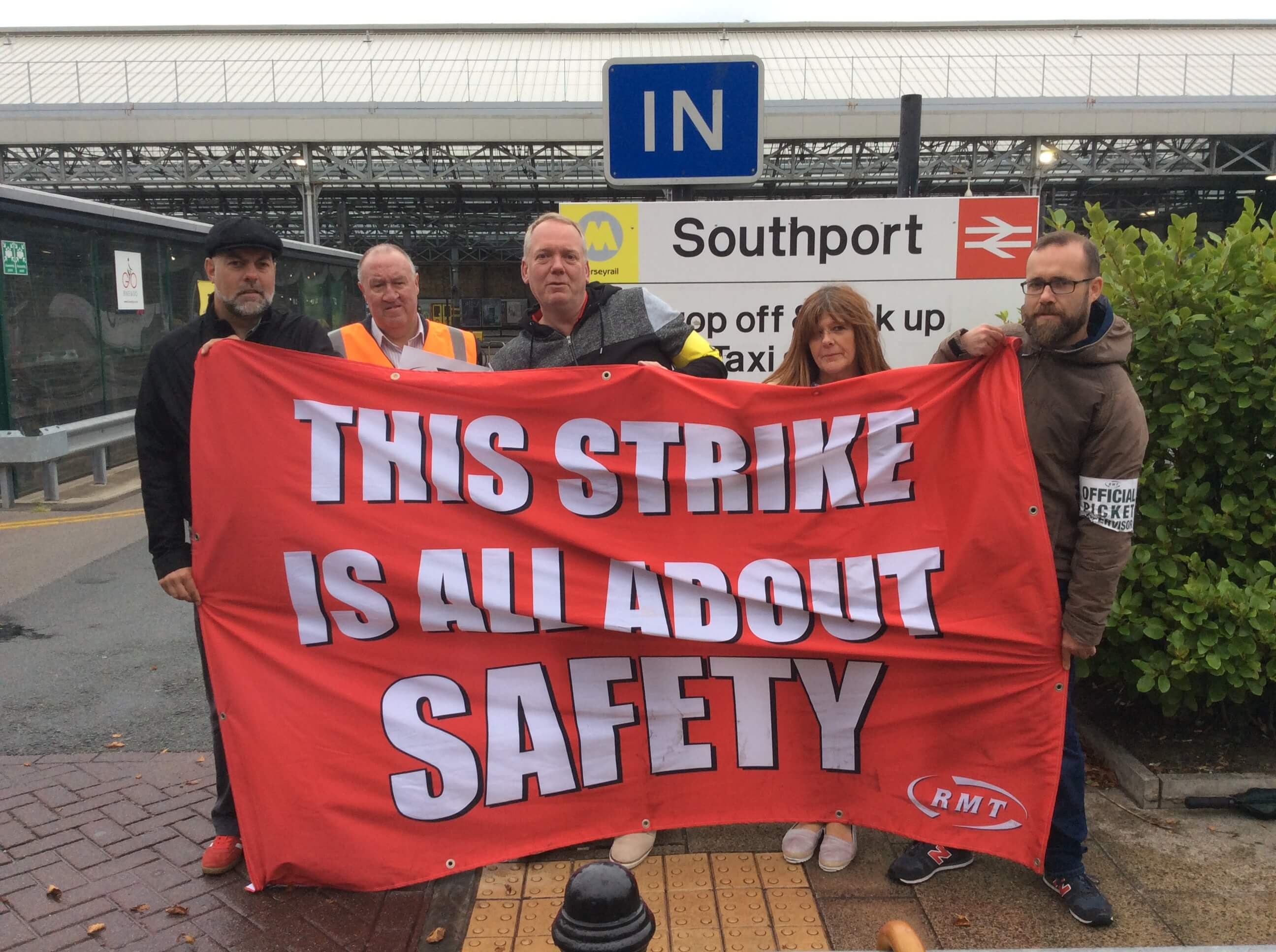 Second day of latest phase of rock-solid Merseyrail strike