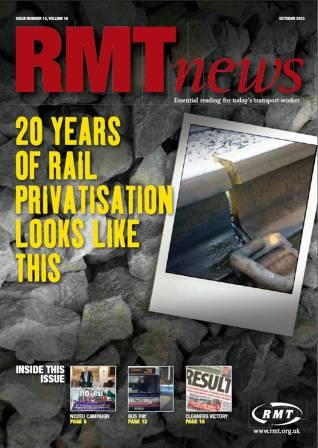 RMT News October 2013 edition out now