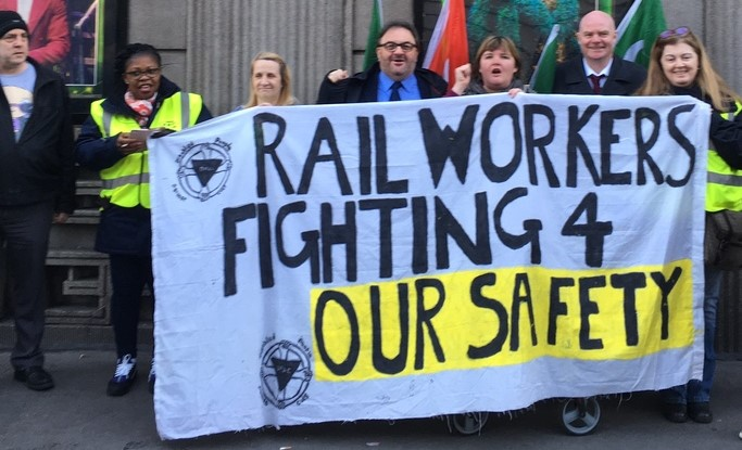 RMT Southern action holding firm nearly a year on