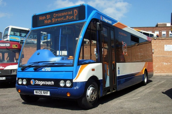 Exeter Stagecoach South West bus drivers ballot