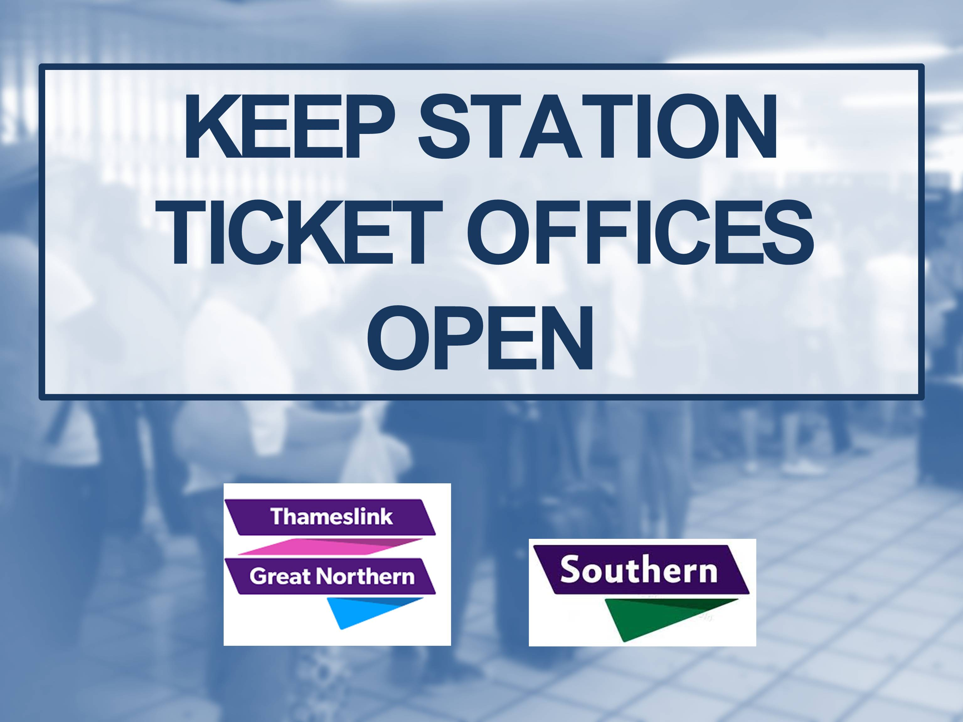 Next phase of fight over rail ticket office closures