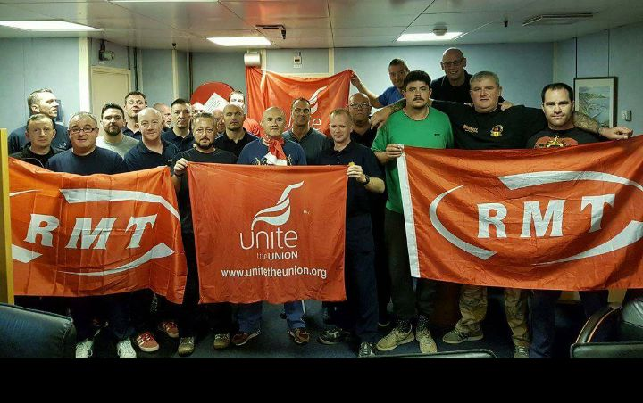 RMT members kick off latest 48 hour strike on Wood Group
